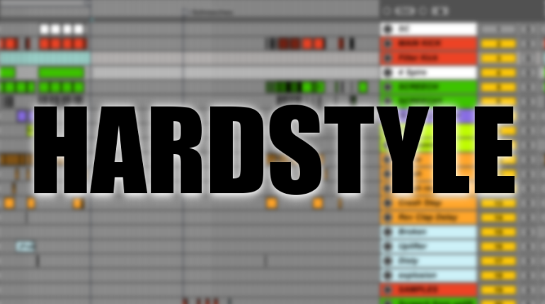 hardstyle production screen
