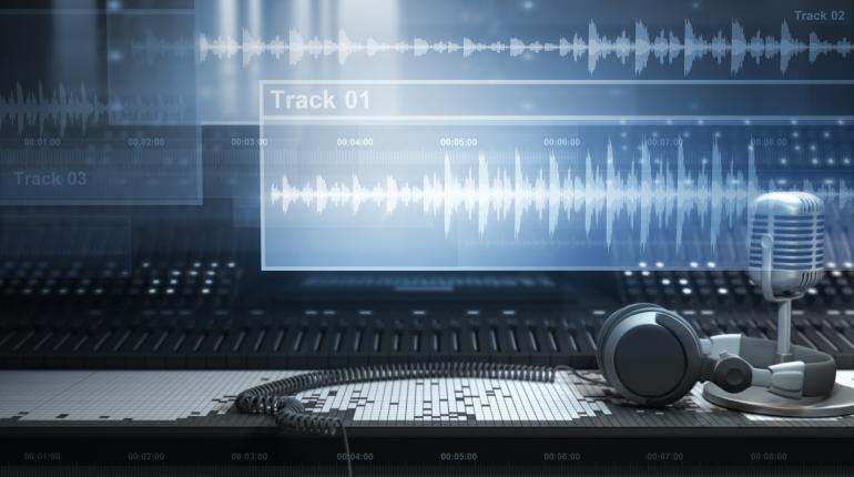 dubstep sound waves