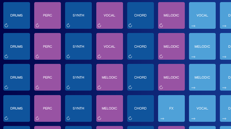 Novation Launchpad in browser