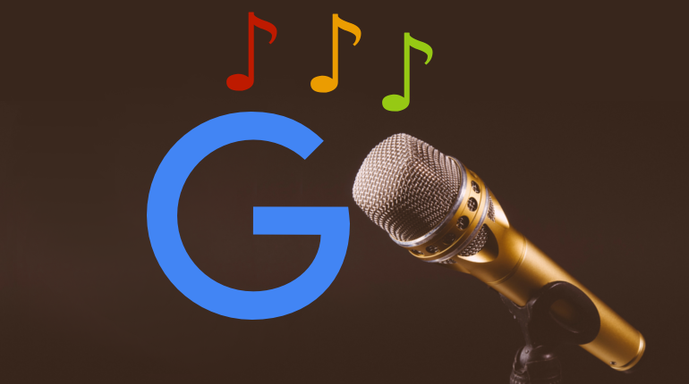 Singing Google
