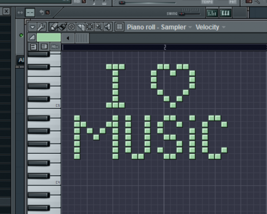 I love music samples